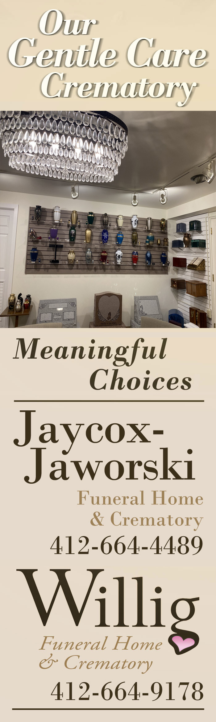 Jaycox-Jaworski and Willig Funeral Homes